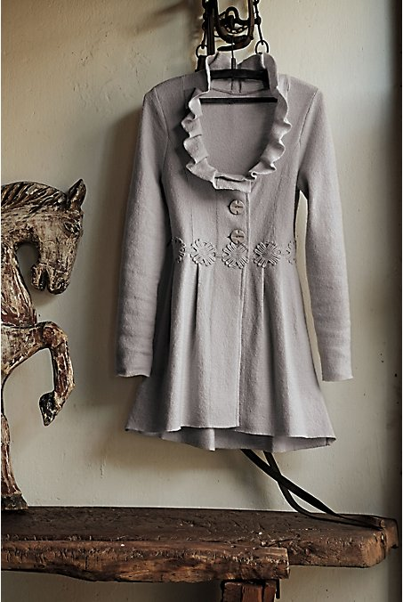 anthropologie: Alice In Autumn Sweatercoat